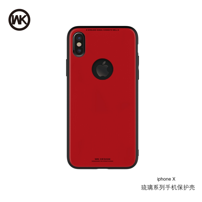 WK AZURE STONE ΘΗΚΗ iPHONE X RED