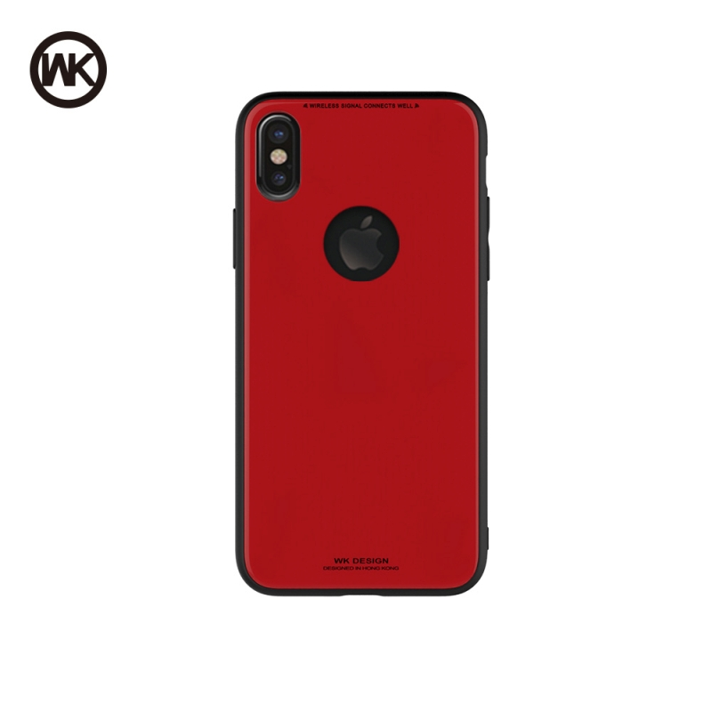 WK AZURE STONE MACAROON SERIES ΘΗΚΗ iPHONE 8 RED