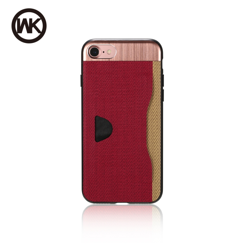 WK GAMO ΘΗΚΗ iPHONE 7 PLUS RED