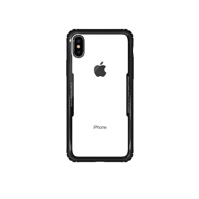 WK SHIELD ΘΗΚΗ iPHONE X BLACK